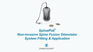 Instructional Fitting Video for Biomet® SpinalPak® Non-invasive Spine Fusion Stimulator System