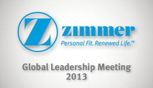 Global Leadership Meeting 2013