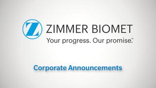 Corporate Announcements